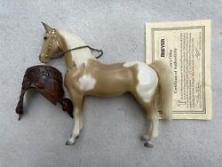 Breyer Western Just About Horses Subscriber Special Glossy Brown Pinto #400057