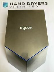 6 X Dyson Airblade V Hand Dryer - Hu02 Nickel Used In Good Condition Refurbished