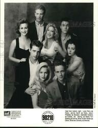 1993 Press Photo The Cast Of The Tv Series Beverly Hills, 90210 - Lrp23010