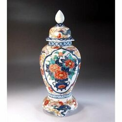 Traditional Crafts Decorative Vases Carefully Made By Arita Pottery Artists
