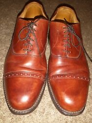 Mens Allen Edmonds High Quality Comfortable Handcrafted Leather Dress Shoes