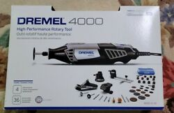 Dremel 4000 - Plunge Router - Vacuum Rotary Tool And Accessories Lot New
