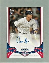 2017 Topps Opening Day Aaron Judge Rc Auto