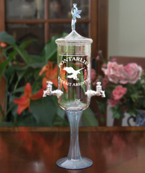 Petite Fee Crystal 2 Spout Absinthe Fountainandnbsppontarlier Etch
