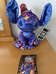 Stitch Crashes Disney - Aladdin - Plush And Jumbo Pin Limited Release -sold Out-