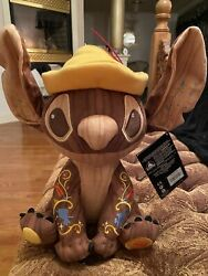 Disney Stitch Crashes Pinocchio Plush Limited Release New With Tag