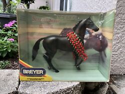 New Breyer Horse #474 Seattle Slew Thoroughbred Racehorse Lonesome Glory Roses 2