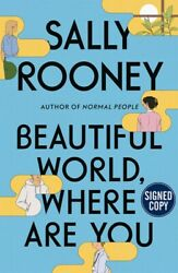 Signed Sally Rooney Beautiful World Where Are You Us1st/1st Preorder