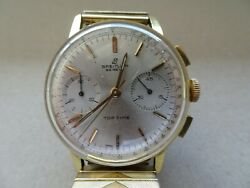 Vintage Breitling Chronograph Top Time Original Dial Calibe 7730 Valjoux Working
