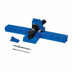 Kreg Jig Pocket Hole System, 1/2 - 1-1/2 In Thick, Glass Filled Nylon.