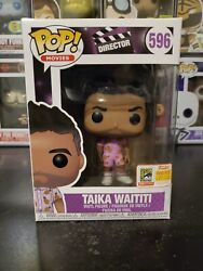 Funko Pop Movies Director Taika Waititi 596 Official 2018 Sdcc With Protector