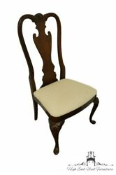 Set Of Four Thomasville Furniture Collectors Cherry Dining Side Chairs 10121-...