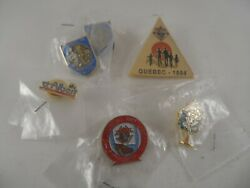 Knights Of Columbus Lapel Pin Lot Includes C De C French Emblem Of The Order