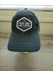 Local Yokel Outfitters Explore Texas Cap Size Med/large Snapback-new-shipn24hr