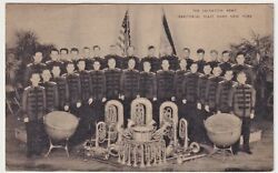 Salvation Army New York Territorial Band Instrument Advertising Postcard Ca 1938
