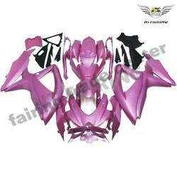 Ftca Injection Pink Fairing Kit Fit For Suzuki 2008-2010 Gsxr 600 750 O085