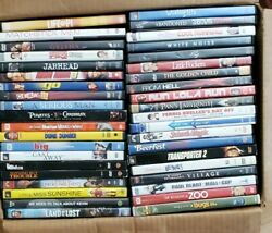 Lot Of 80 Good Used Assorted Dvd Movies And Cases - Dvds Box Bulk Set - Wholesale