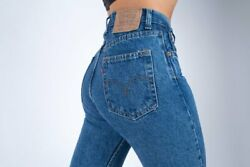 Levi's 534 Vintage Slim Fit High Waist Jeans, Made In Usa W27/l32