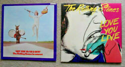 Rolling Stones Mick Jagger Keith Richards Charlie Watts Rock Live 12 Record Lot