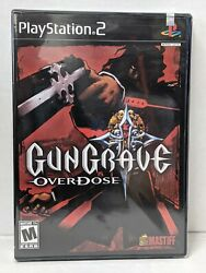Gungrave Overdose Playstation 2, Ps2 2004 New Factory Sealed