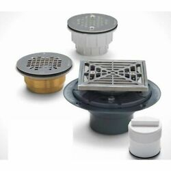 Sioux Chief 821-2aqcp 2 Abs Tile Square Shower Drain.