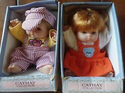 Cathy Cathay Collection Dolls Porcelain 8 Inches A
