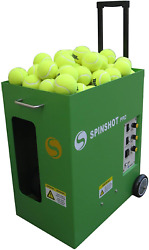 Spinshot Pro Tennis Ball Machine The Best Model For Easy Use