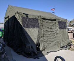 Base-x 303 Military Shelter Tent 18and039x15and039