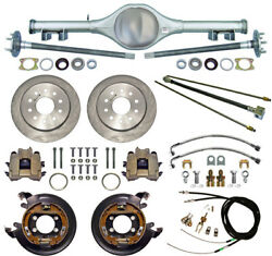 Currie 62-67 X-body Multi-leaf Rear End And Disc Brakeslinesparking Cablesaxles