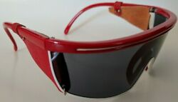 True Vintage from the 1980#x27;s wrap around Funky Sports leather side sunglasses
