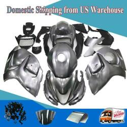 Ftc Injection Grey Tank Cover Fairing Kit Fit For Suzuki 2008-15 Gsxr1300 A068
