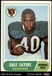 1968 Topps 75 Gale Sayers Bears 3 - Vg