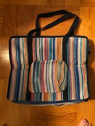 Colorful Mesh Beach Bag with matching small purse $13.00