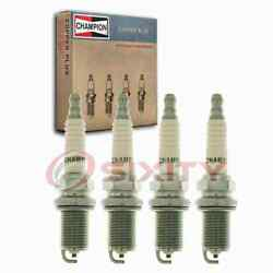 4 Pc Champion Intake Side Copper Plus Spark Plugs For 1986-1988 Nissan Multi Lc