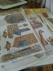 Vintage Lot Of 14 Carousel Crafts Decoupage Prints For Purse Mopsey Twins Etc