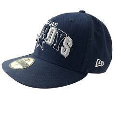 Dallas Cowboys Nfl Football Cap Navy Blue Embroidered New With Stickers On Hat