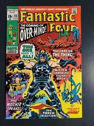 Fantastic Four 113 1971 F/vf 7.0 1st App Eternals Overmind Agatha Harkness 
