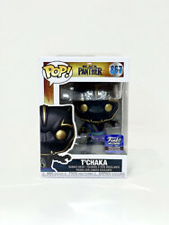 Funko Pop Marvel Black Panther Tandrsquochaka Hollywood Exclusive 867 And Protector