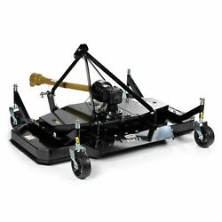 Titan Attachments 3 Point Pto Finish Mower, 72 Cutting Width, Category 1 Hitch