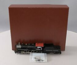 W And R Ho Brass Northern Pacific 4-6-0 Steam Locomotive And Tender 1354 Ln/box