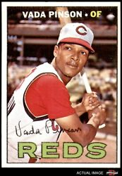 1967 Topps 550 Vada Pinson Reds 6 - Ex/mt