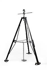 Camco 48855 Fifth Wheel King Pin Stabilizer 48 Height 5000 Lbs Capacity Single