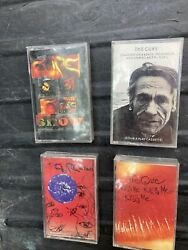 Lot Of 4 The Cure Cassette Tapes Kiss Me Kiss Me Kiss Me Wish Standing On A Beac