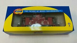 Athearn Rtr 74369 Chicago And Eastern Illinois 2 Window Caboose Candei 5 Nos