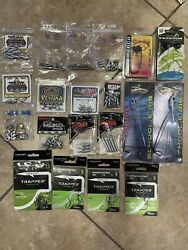 Bass Fishing Tungsten Dropshot Sinkers A Rigs And Trapper Tackle Hooks
