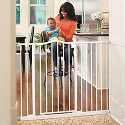 Toddleroo By North States 46.8 Wide Tall And Wide Portico Arch Baby Gate Heavy...