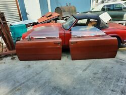 1970 Plymouth Duster Doors Complete
