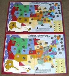 1999-2008 Complete Fifty 50 Us State Commemorative Quarters Coin Set's 2