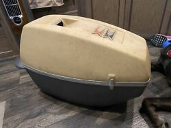1969 4hp Suitcase Evinrude Lightwin Engine With Case