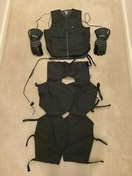 Widder Lectric Heated Gear Complete Set With Vest 46 Chaps 29 Gloves Medium